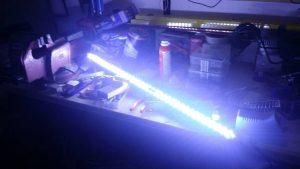 Innenbeleuchtung in Betrieb