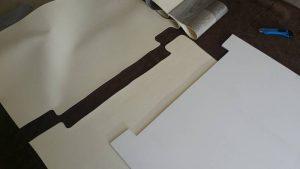 Kajütfußboden aus PVC-Platte und Vinylboden