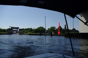 Sportbootanleger im Oberwasser Meiderich