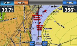 Openseamap auf dem Garmin GPSMap