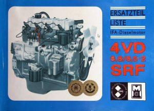 IFA Multicar Diesel Ersatzteilliste