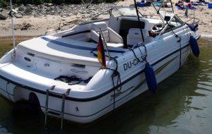 amtliches Kennzeichen des WSA Duisburg zur Erfüllung der Kennzeichnungspflicht