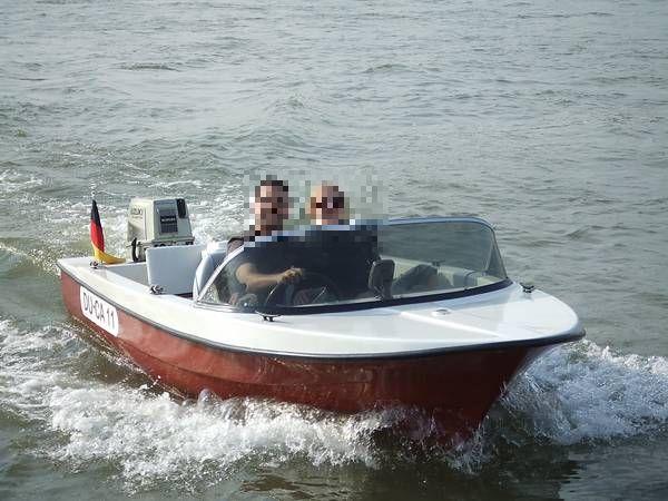 schlauhboot mit motor 2 3ps