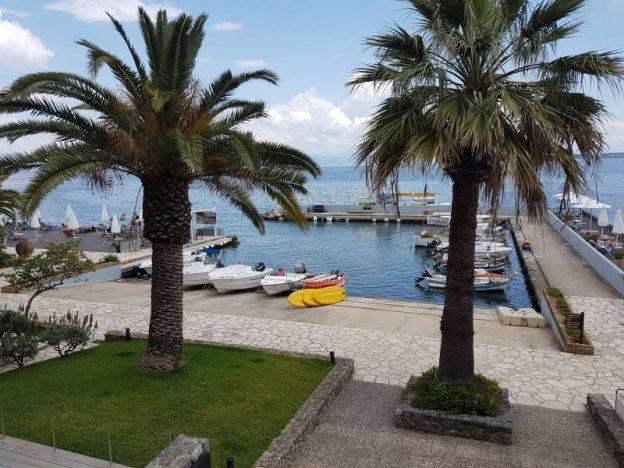 Hafen des Hotels Kontokali Bay Resort - Bootfahren ausprobieren für alle
